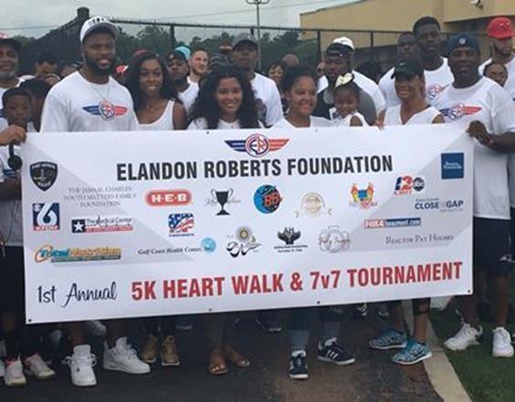 Elandon Roberts, Close the Gap Partner to Educate City of Port Arthur With Heart Walk