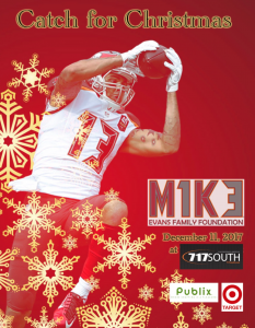 catch for christmas - Mike Evans Family Foundation