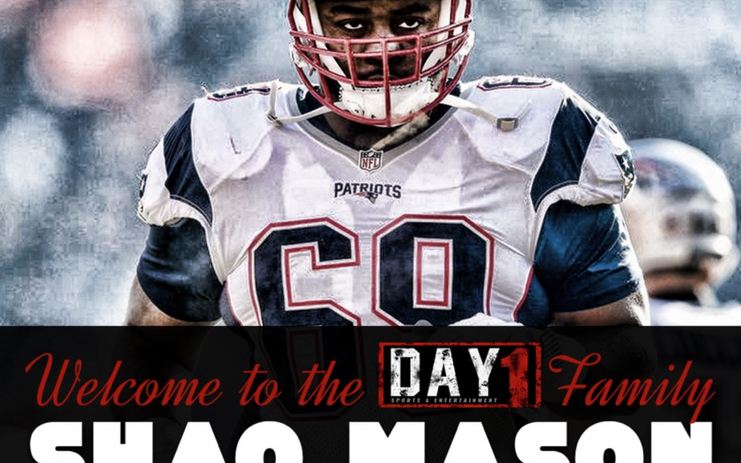Patriots Offensive Guard Shaq Mason Signs With Day 1 Sports