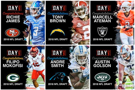 Day 1 Sports 2018 Draft Class!