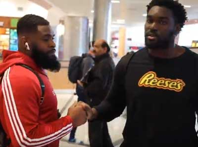 WATCH – Michael Pinckney & Hakeem Adeniji's Journey to the NFL Combine 2020 | Time2Football